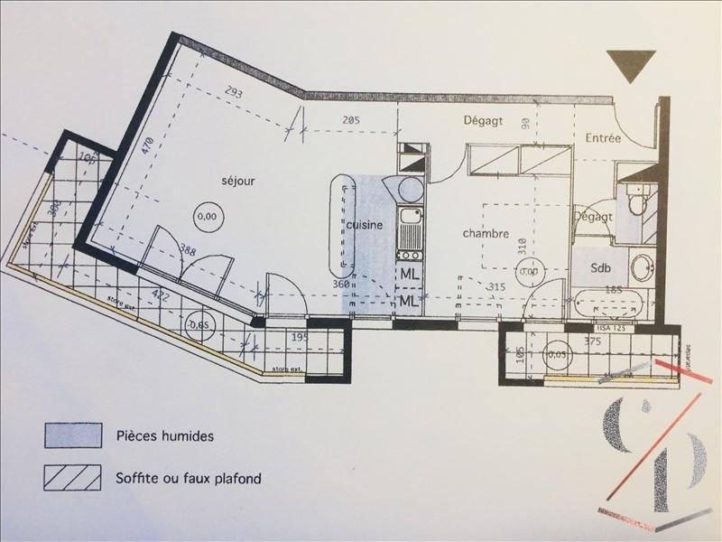 Vente appartement Cauderan 225990€ - Photo 7