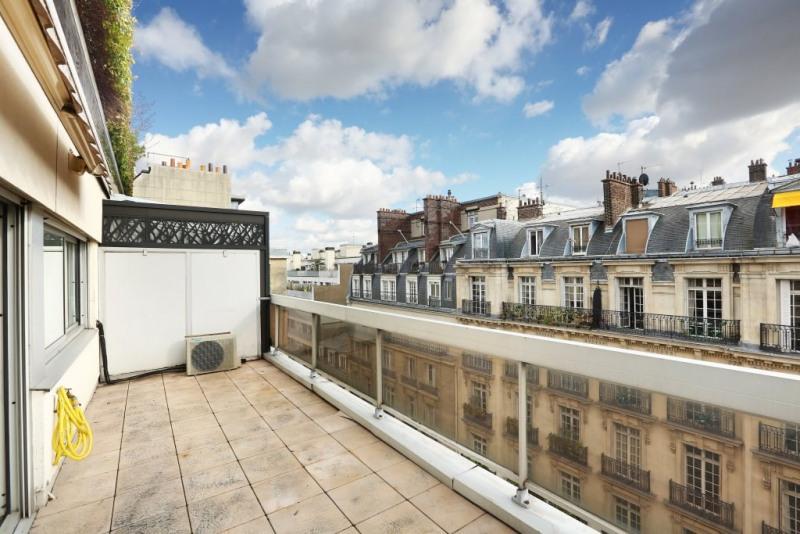 Paris XVIIe - Parc Monceau - Terrasse