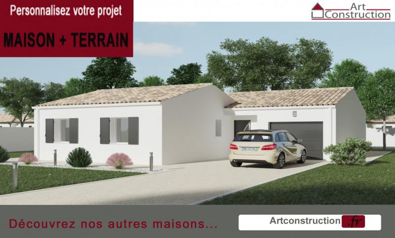 Maison  4 pièces + Terrain 612 m² Cozes par ART CONSTRUCTION