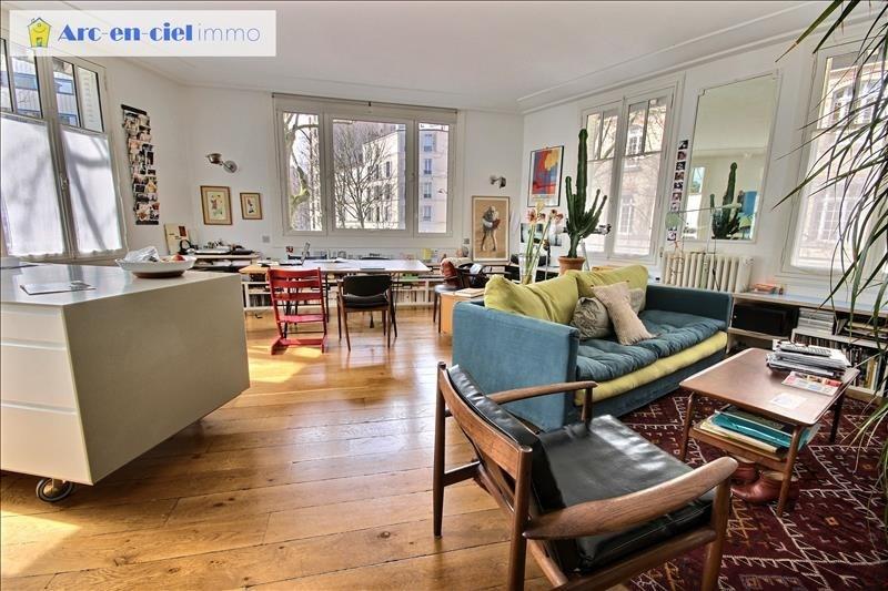 Verkauf von luxusobjekt wohnung Paris 19ème 1099000€ - Fotografie 1