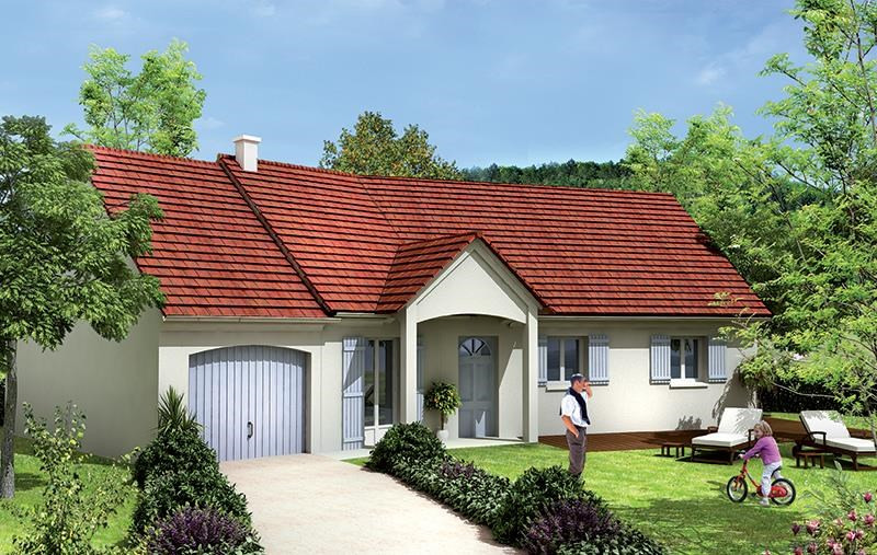 Maison  5 pièces + Terrain 380 m² Trappes par MAISONS BARILLEAU