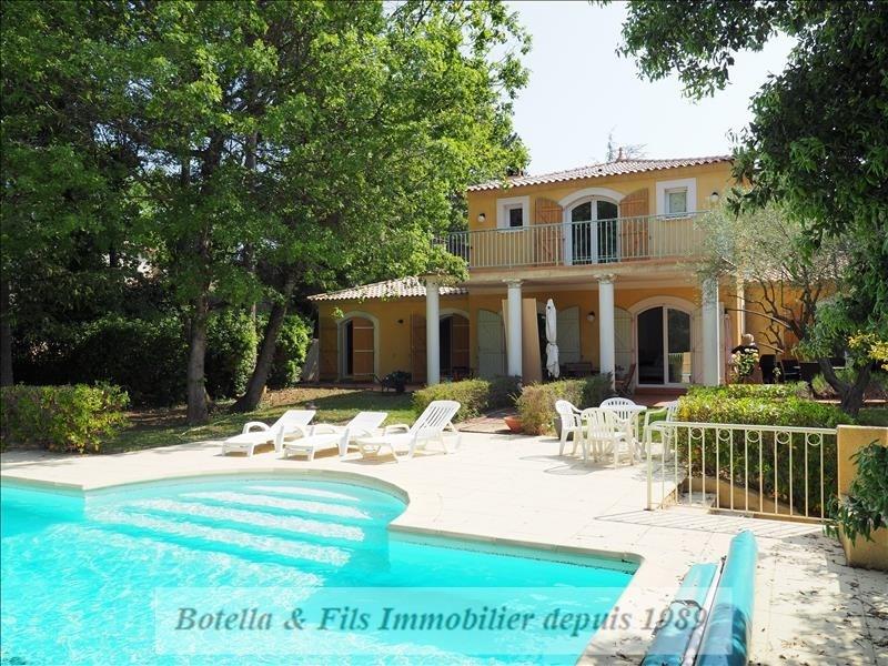 Verkauf von luxusobjekt haus Uzes 453000€ - Fotografie 1