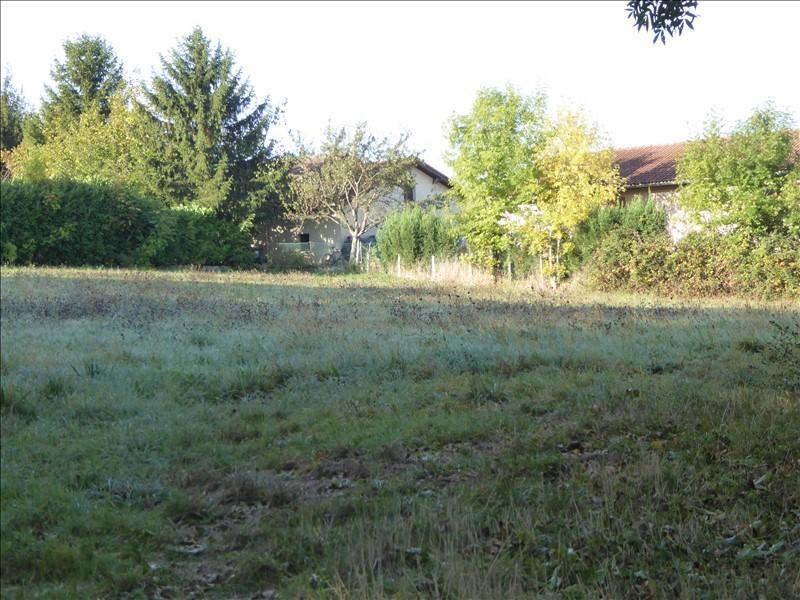 Vente terrain St georges d esperanche 165000€ - Photo 2