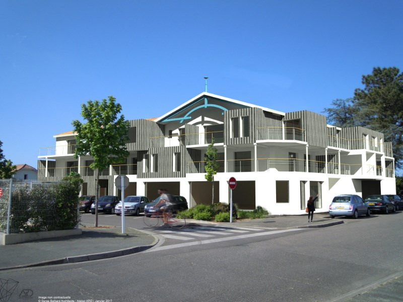 la villa fleurie programme immobilier neuf biscarrosse propos par sacif. Black Bedroom Furniture Sets. Home Design Ideas