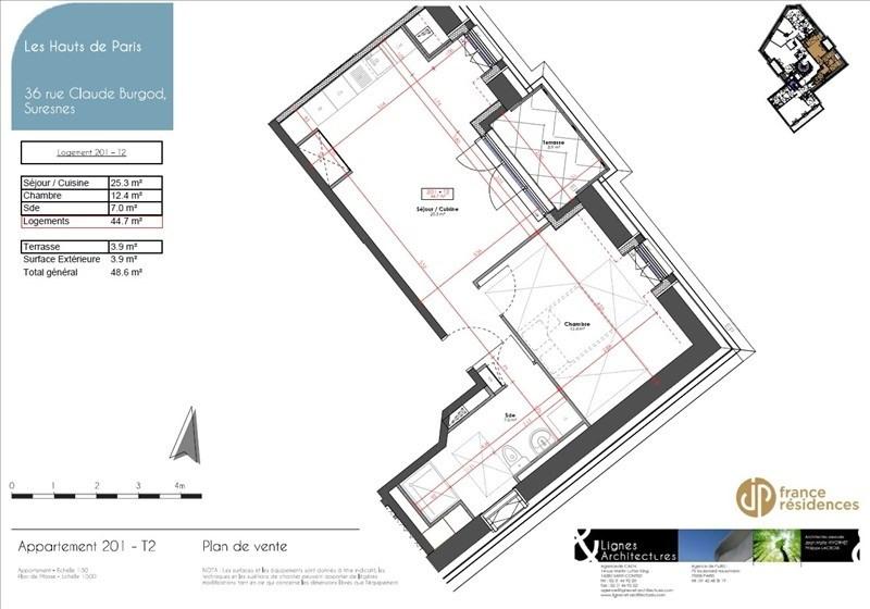 Sale apartment Suresnes 378400€ - Picture 7