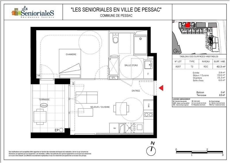 Vente appartement 2 pi ce s bordeaux 40 3 m avec for Appartement bordeaux 200 000 euros