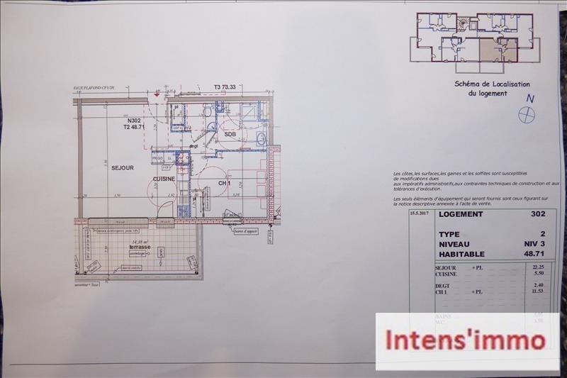 Sale apartment Pizancon 155000€ - Picture 3