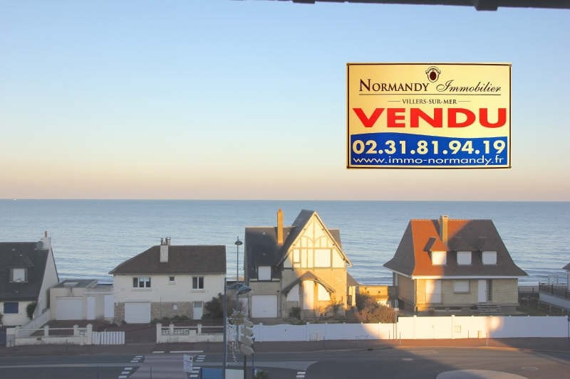 Vente de prestige appartement Villers sur mer 198000€ - Photo 1