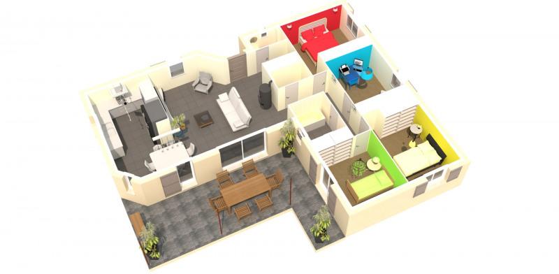 Maison  4 pièces + Terrain 780 m² Rocbaron par MAISONS D'EN FRANCE MIDI-MÉDITERRANÉE SALON