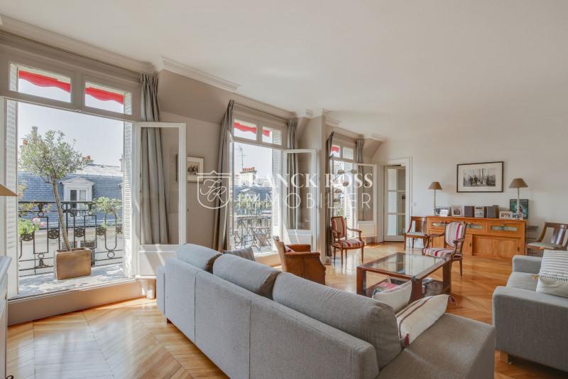 Rental apartment Paris 17ème 6000€ CC - Picture 2