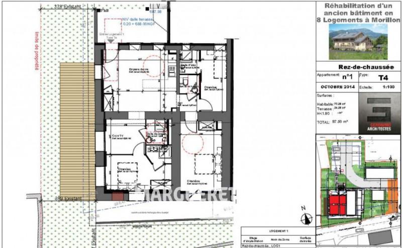 Sale apartment Morillon 200000€ - Picture 8