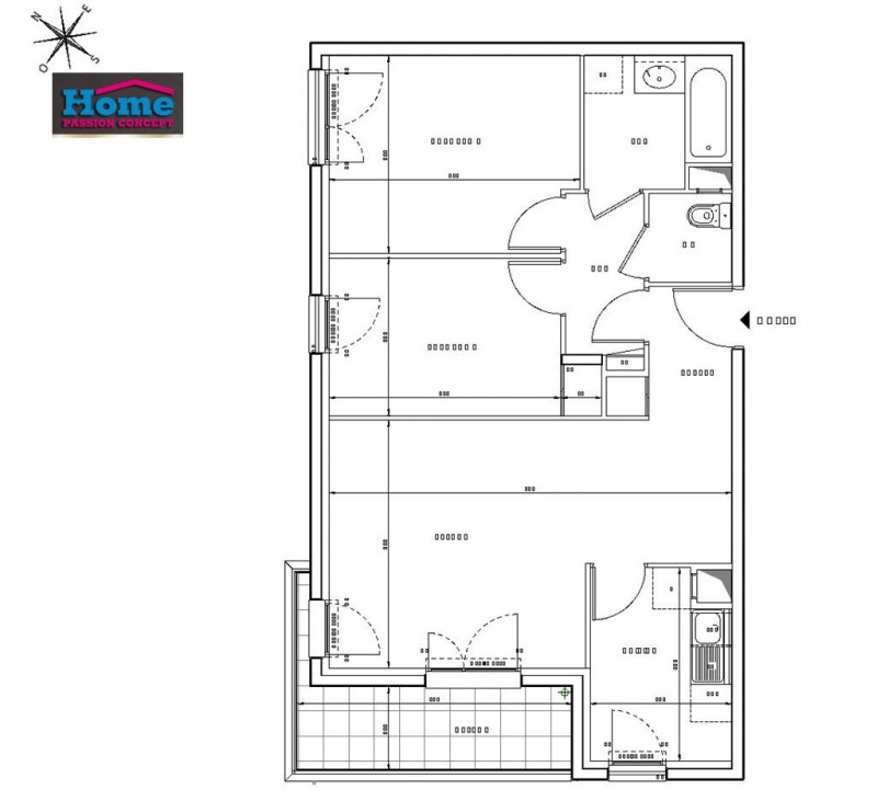 Vente appartement Rueil malmaison 433000€ - Photo 2