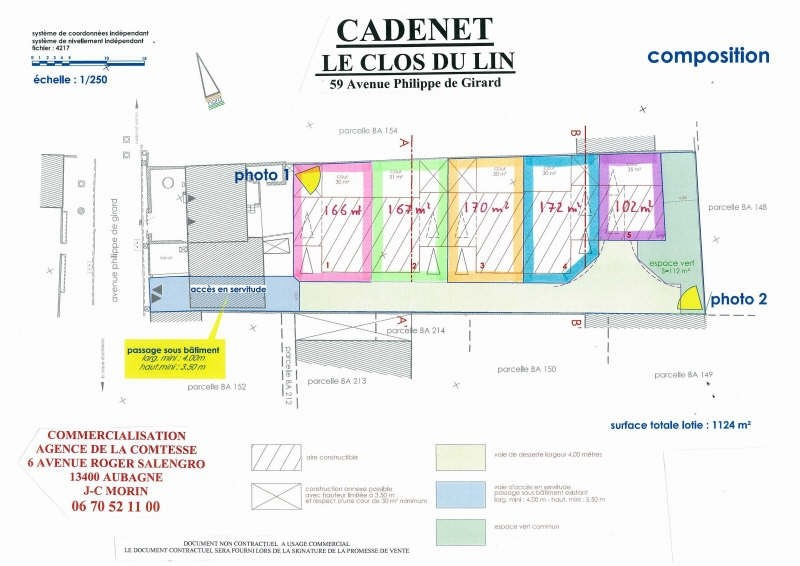 Sale site Cadenet 99 000€ - Picture 3