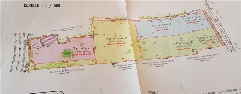 Vente terrain Samois sur seine 155000€ - Photo 4