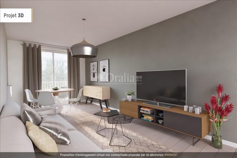 Vente appartement Villeurbanne 148000€ - Photo 2