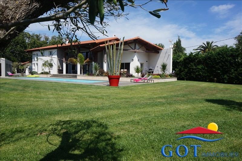Vente de prestige maison / villa Torreilles 835000€ - Photo 1