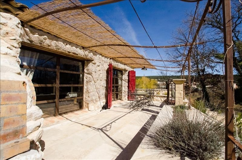 Vente de prestige maison / villa Pourrieres 572000€ - Photo 1