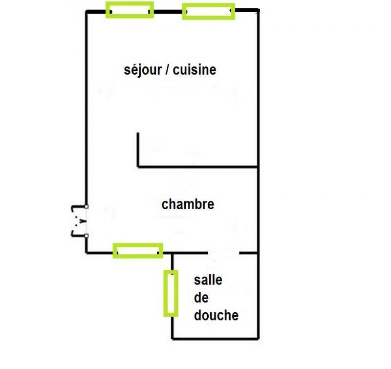 Vente appartement Paris 4ème 384000€ - Photo 2