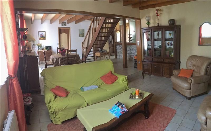 Vente maison / villa Savigny levescault 184000€ - Photo 2