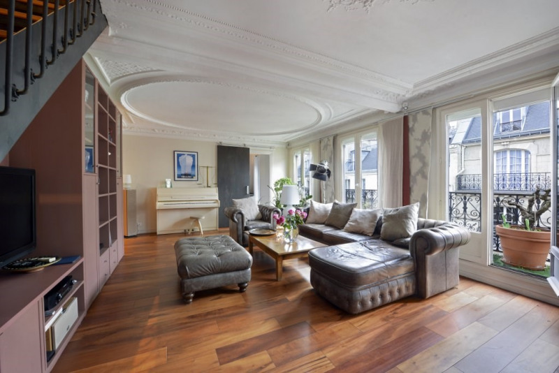 Vente de prestige appartement Paris 9ème 1924000€ - Photo 4