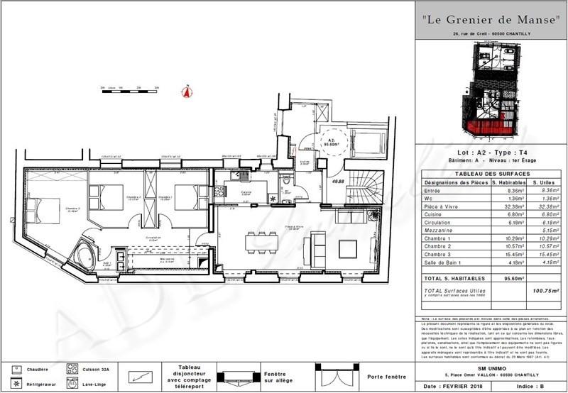 Vente appartement Chantilly 450000€ - Photo 4