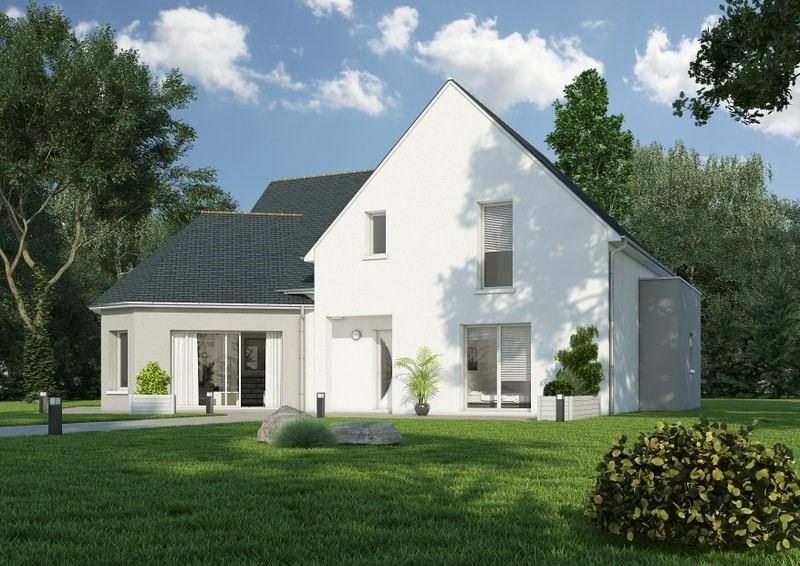 """Modèle de maison  """"Modèle de maison 6 pièces de 4 chambres"""" à partir de 6 pièces Maine-et-Loire par PIERRE ET TERRE"""