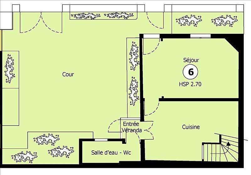 Vente maison / villa Villejuif 290000€ - Photo 9