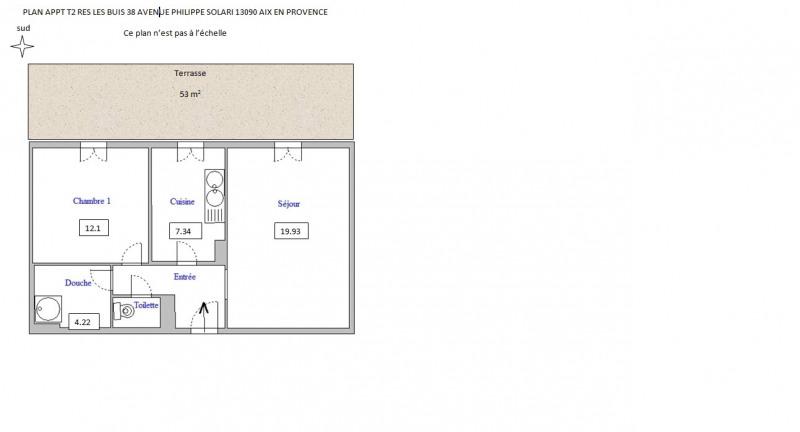 Rental apartment Aix en provence 1130€ CC - Picture 7