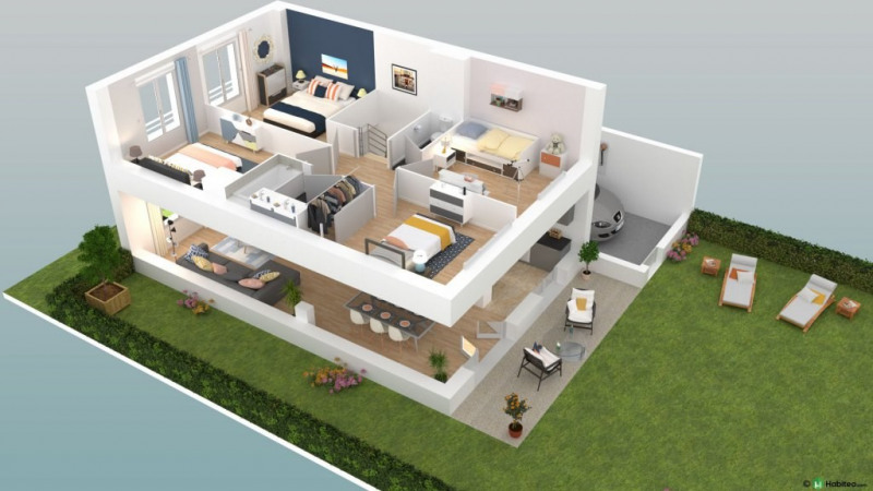 Vente maison / villa Élancourt 372000€ - Photo 2
