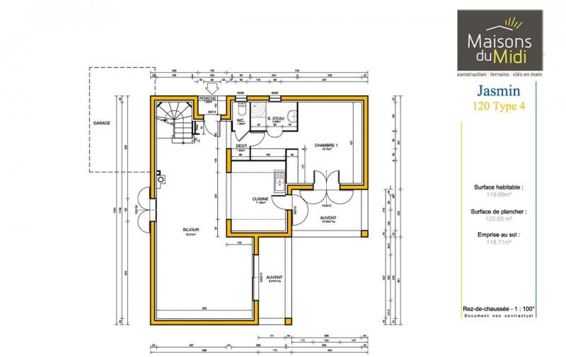 Maison  5 pièces + Terrain 1700 m² Villecroze par MAISONS DU MIDI