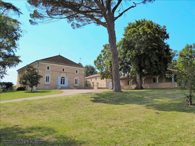 Deluxe sale house / villa Castelmoron sur lot 535000€ - Picture 1