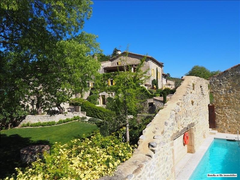 Vente de prestige maison / villa Uzes 1080000€ - Photo 1