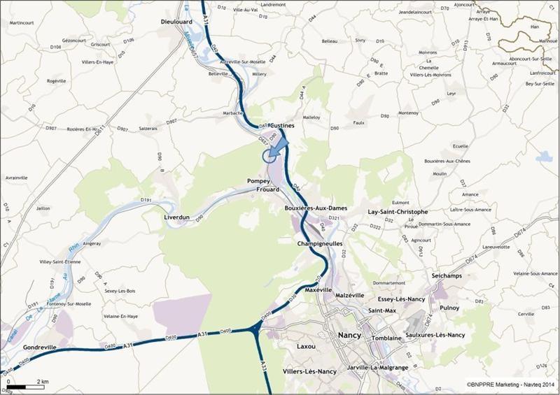 Location Local d'activités / Entrepôt Pompey 0
