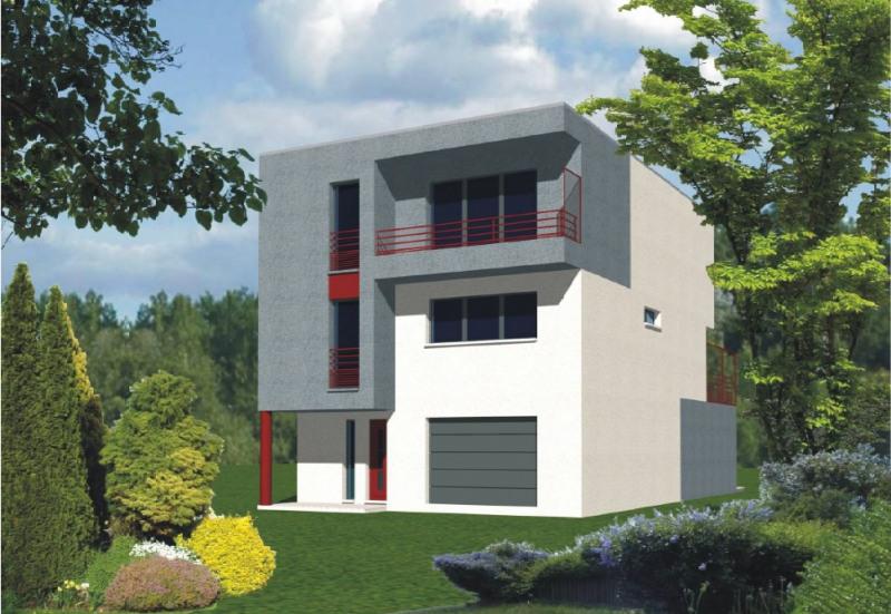 """Modèle de maison  """"Villa contemporaine"""" à partir de 7 pièces Hauts-de-Seine par MAISONS FOSCHIA"""