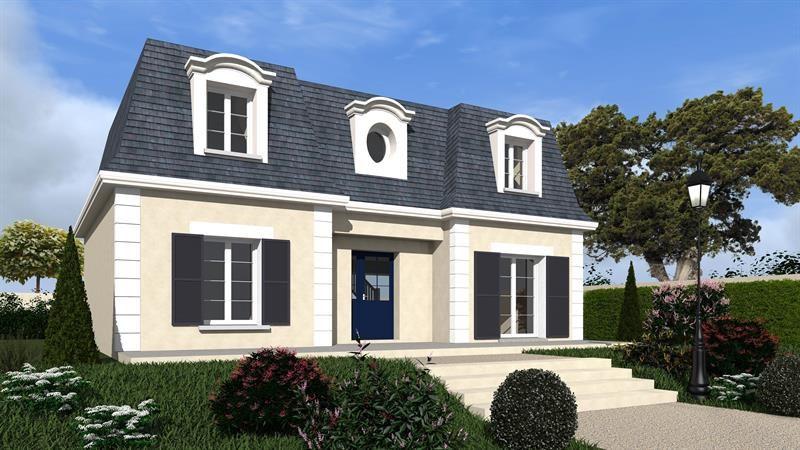"""Modèle de maison  """"Vosges 141"""" à partir de 6 pièces Val-de-Marne par MAISONS BERVAL – DIRECTION COMMERCIALE"""