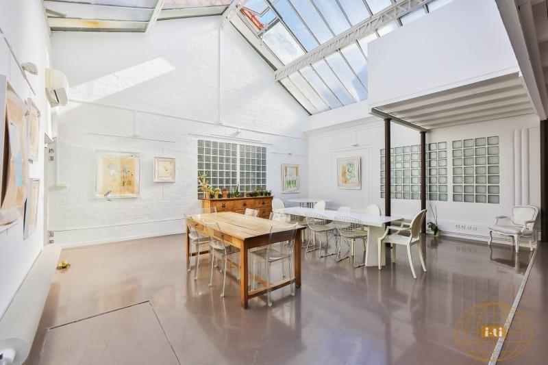 Deluxe sale loft/workshop/open plan Paris 18ème 1230000€ - Picture 3