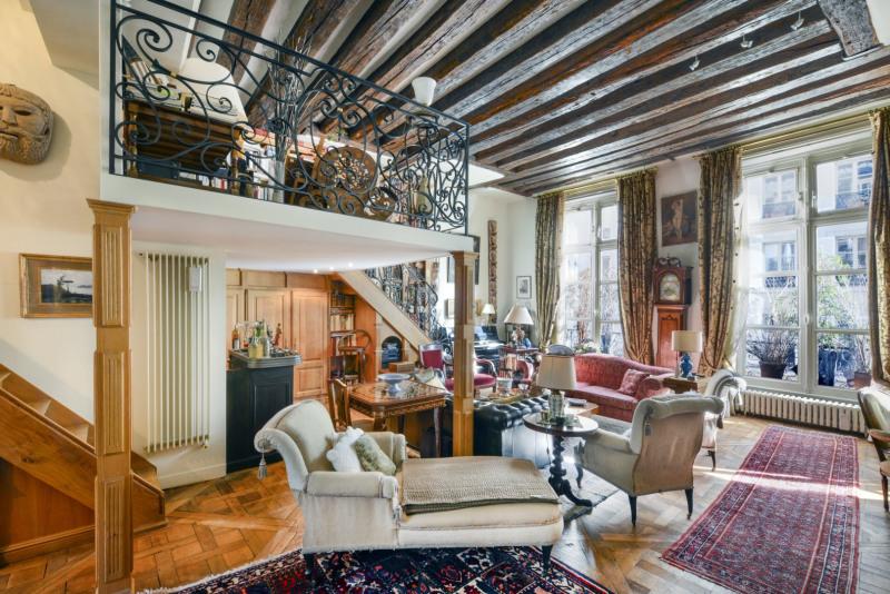 Verkoop van prestige  appartement Paris 4ème 3150000€ - Foto 1