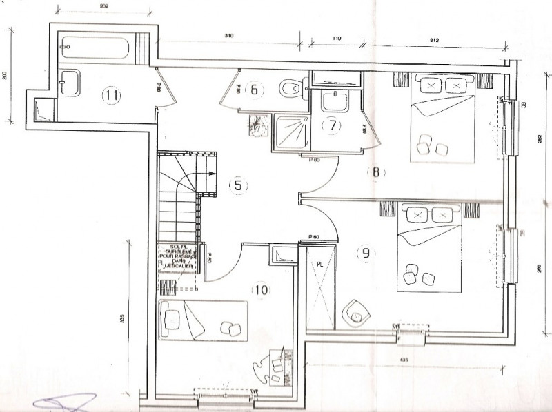 Vente appartement Villeneuve-la-garenne 342990€ - Photo 5