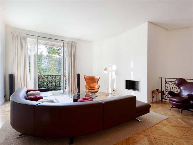 Revenda residencial de prestígio apartamento Paris 16ème 4800000€ - Fotografia 1