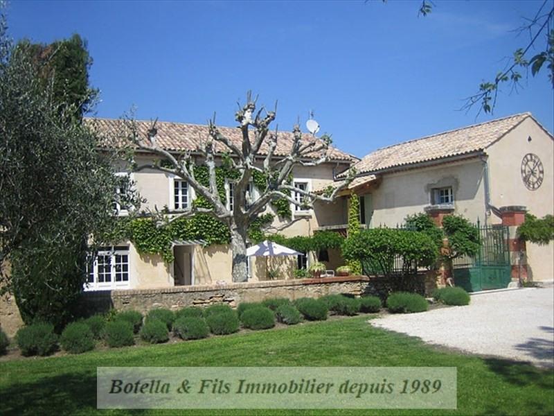 Vente de prestige maison / villa Goudargues 545000€ - Photo 1