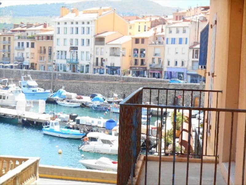 Sale apartment Port vendres 139000€ - Picture 1