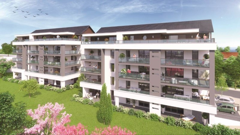 Vente appartement La roche-sur-foron 346000€ - Photo 1