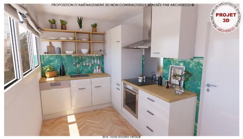 Sale apartment Colomiers 100000€ - Picture 2