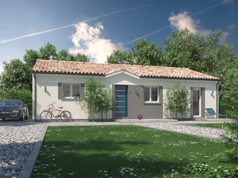 Maison  5 pièces + Terrain 555 m² Béguey par MAISONS M.C.A.