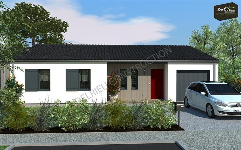 Maison  5 pièces + Terrain 629 m² Niort par DELRIEU CONSTRUCTION