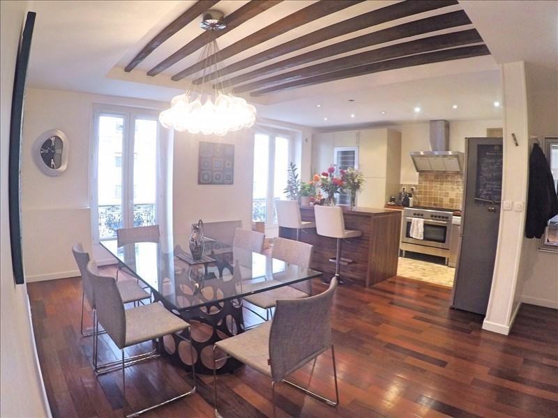 Vente de prestige appartement Paris 11ème 1050000€ - Photo 1