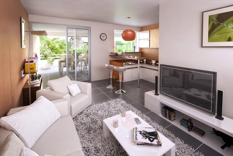 Investment property apartment Le lamentin 245000€ - Picture 3