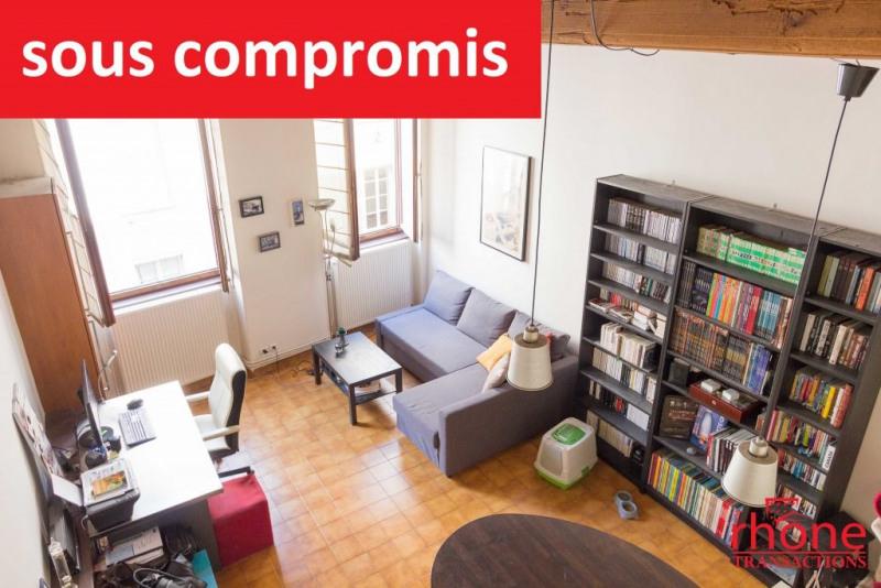 Venta  apartamento Lyon 1er 175000€ - Fotografía 1