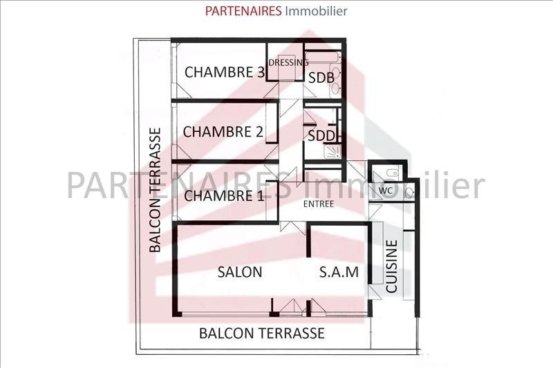 Sale apartment Rocquencourt 628000€ - Picture 8