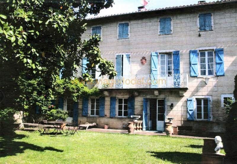 Vendita nell' vitalizio di vita casa Montricoux 335000€ - Fotografia 2
